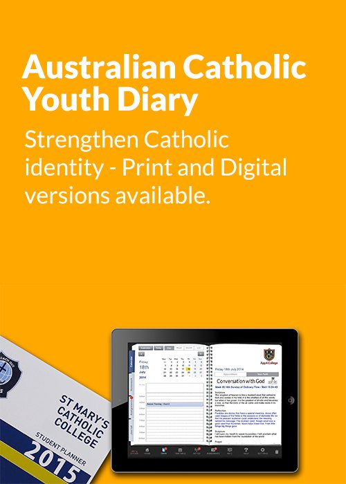Australian Catholic Youth Diary