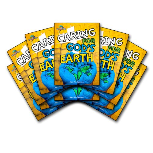 Caring for God's Earth Wonderings Student Book Pack of 10 books