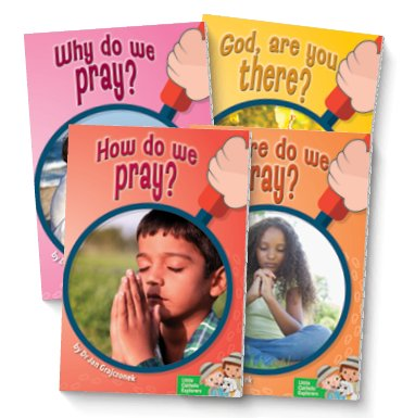 Little Catholic Explorers: Prayer Set of 4 Books