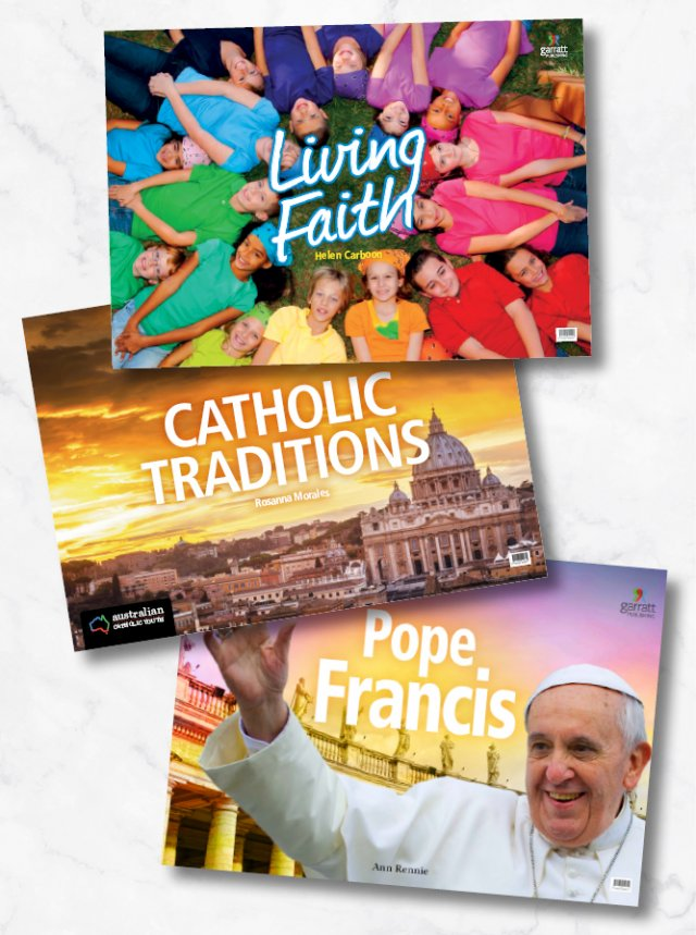 Popular Big Book Pack: Pope Francis, Catholic Traditions, Living Faith