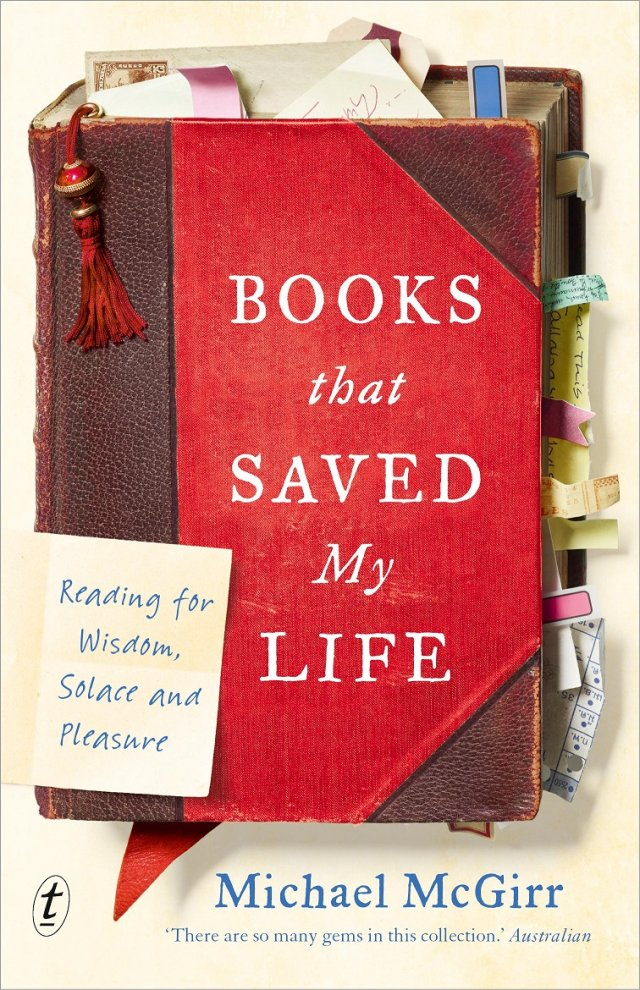 Books that Saved My Life: Reading for Wisdom, Solace and Pleasure paperback