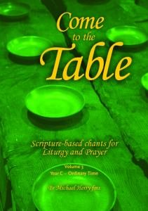 Come to the Table Vol 3 Year C Music Book