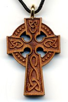 Celtic Wooden Cross Design 1