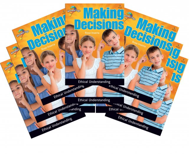 Making Decisions Wonderings Student Book Pack of 10 books