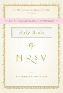*NRSV Catholic Gift Bible -White Hardcover