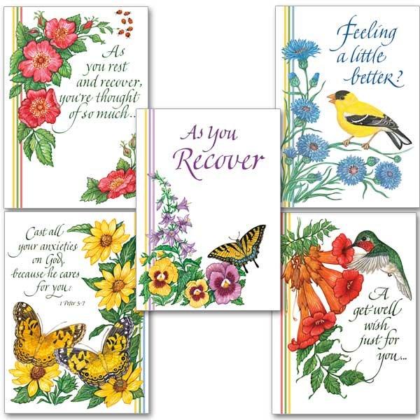 Get Well Cards Garratt Publishing