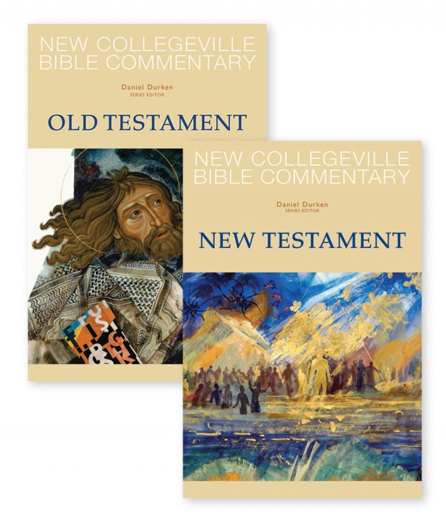 New Collegeville Bible Commentary  Two-Volume Old and New Testament Set
