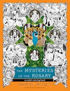 Mysteries of the Rosary Colouring book