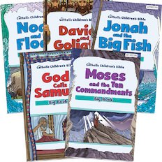 *Catholic Children's Bible Old Testament Bible Big Book Pack