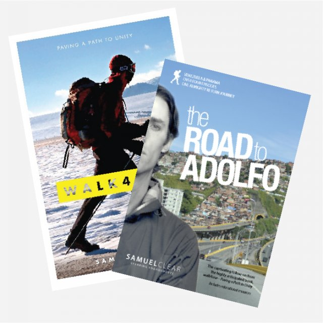 walk4one and Road to Adolfo Book & DVD set