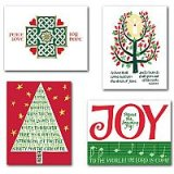 Christmas Heritage Petite Note Assortment - pack of 12