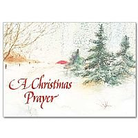 A Christmas Prayer - Card for a difficult Christmas pack of 5
