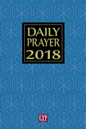 Daily Prayer 2018