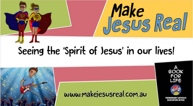 Spirit of Jesus in our Lives - MJR banner design 5 pack of 5 banners