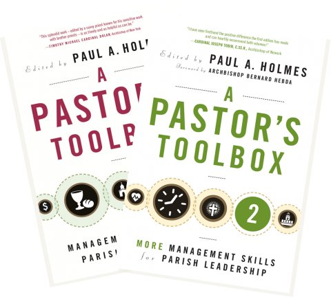 Pastor's Toolbox Management Skills for Parish Leadership volumes 1 & 2 book pack