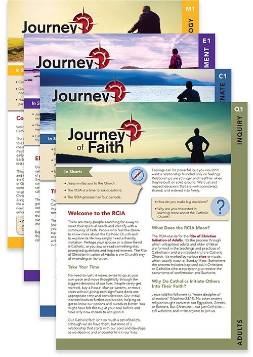 Journey of Faith for Adults Complete Set New Revised Edition 48 lesson pack