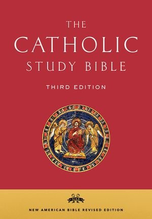 Catholic Study Bible NABRE New American Bible Revised Third edition  Bonded Leather