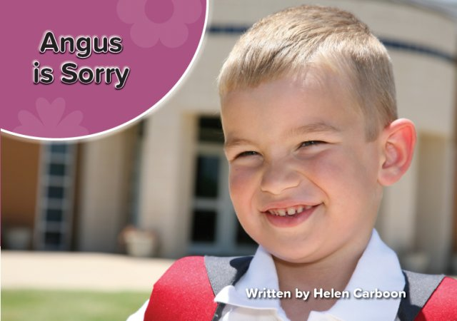 Moments of Celebration: Angus is Sorry