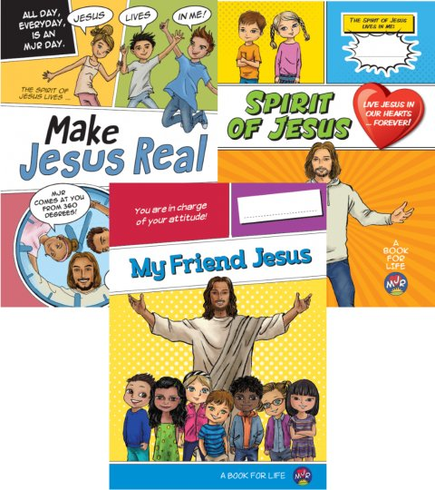 Make Jesus Real Evaluation Pack of 3 Books