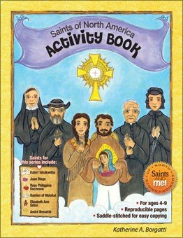 Saints of North America Activity Book - Saints and Me! Series