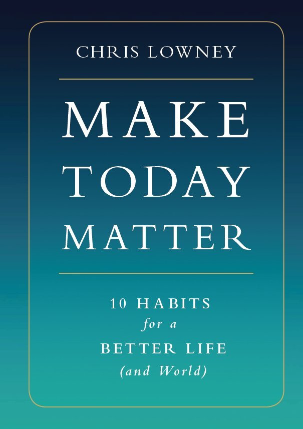 The Cover Image for Make Today Matter